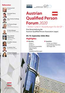 Austrian Qualified Person Forum 2020