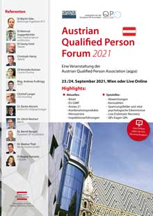 Austrian Qualified Person Forum 2018